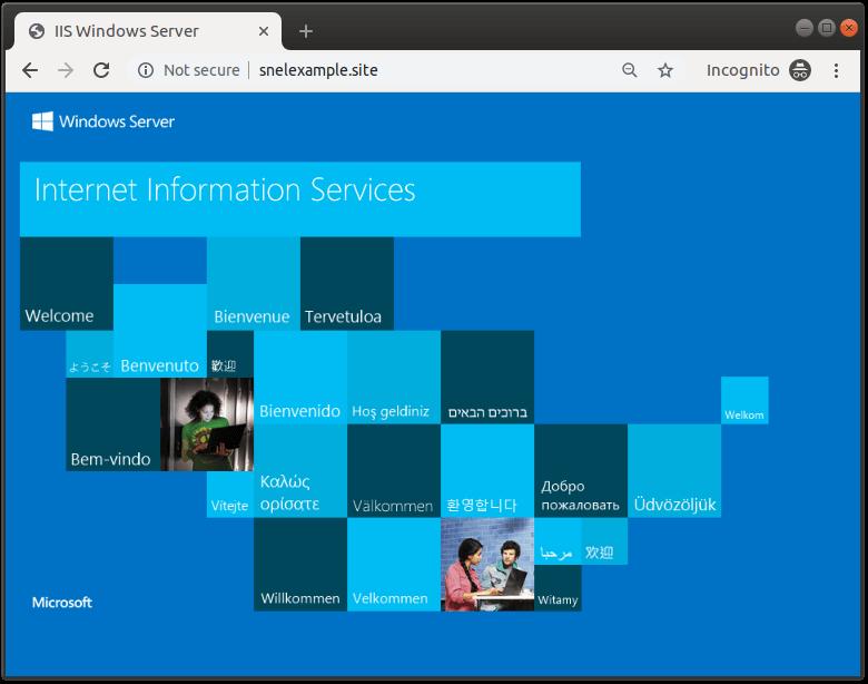 ISS Windows Server