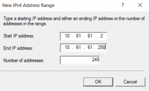 new ipv4 range