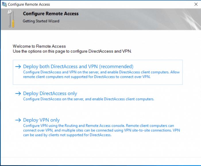 configure remote access