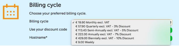 vps billing discount