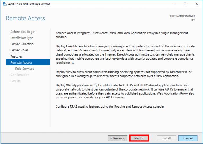 windows server 2016 ra