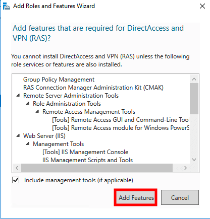 windows server 2016 ras