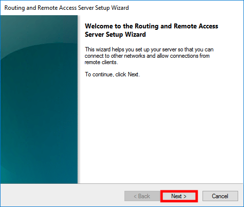 windows server 2016 routing setup