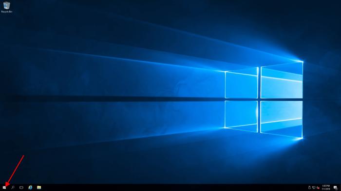 windows server start
