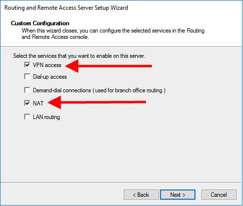 windows server 2016 select