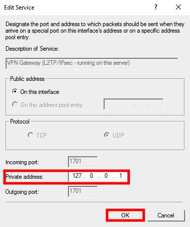 windows server 2016 private