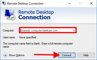 windows 10 configure rdp