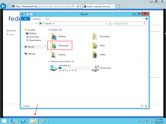 WS 12 File Explorer