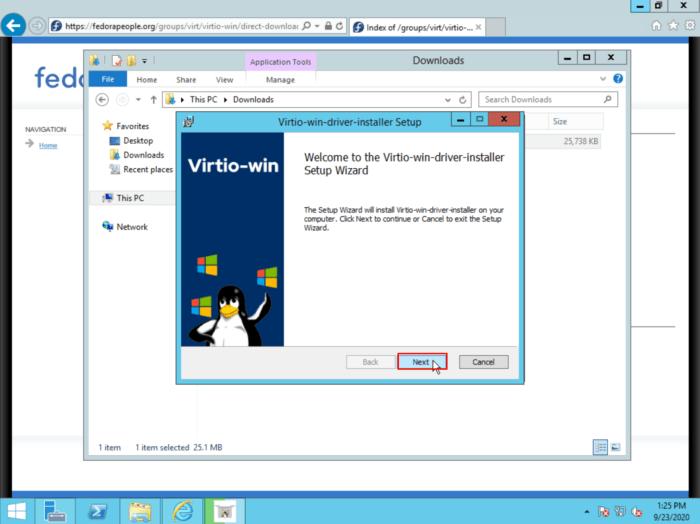Virtio Installer-2