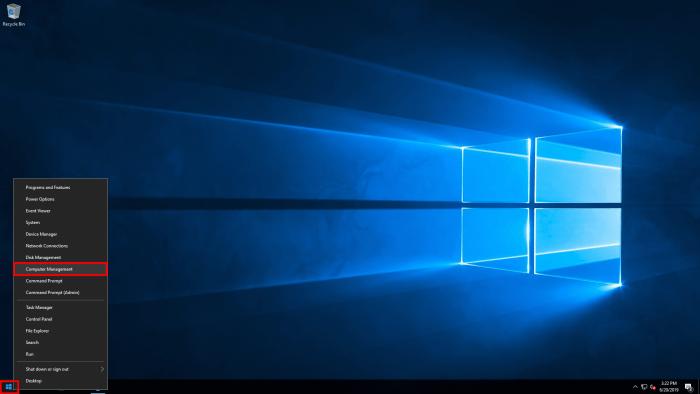 windows server 2016 right
