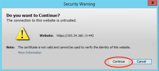 security-warning