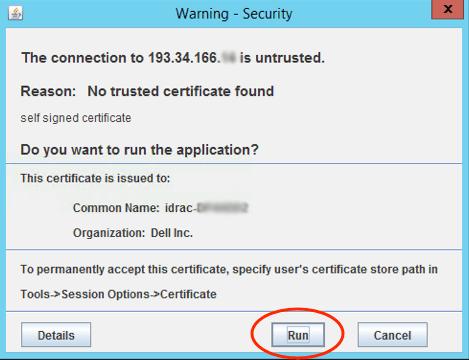 warning security 12